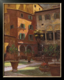 Siena Courtyard Prints by Greg Singley