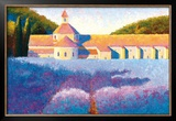 L'Abbaye de Senanque Prints by Gail Wells-Hess
