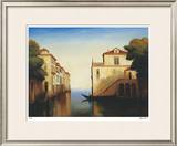 Seaside on the Amalfi Coast Limited Edition Framed Print by Robert White