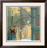Venice, Rippled Reflections Limited Edition Framed Print by Alan Cotton