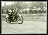 MV Agusta Gilera GP Motorcycle Framed Giclee Print