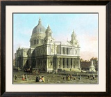St. Paul&#39;s Cathedral Posters by Canaletto 