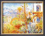 Villas at Bordighera Framed Giclee Print by Claude Monet