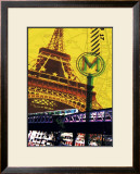Tour Eiffel, Paris Prints by Maryse Guittet