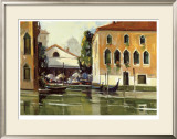 Venice Cafe Limited Edition Framed Print by Ted Goerschner