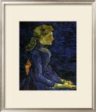 Portrait of Adeline Ravoux Posters by Vincent van Gogh