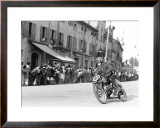 Enduro MX Motorcycle Framed Giclee Print by Giovanni Perrone