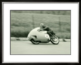 Grand Prix Motorcycle Framed Giclee Print