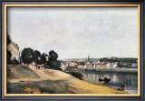Chateau Thierry, Vue d'Ensemble Print by Jean-Baptiste-Camille Corot