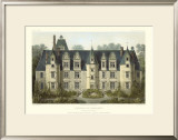 French Chateaux III Prints by Victor Petit