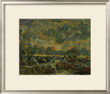 Recollection of Brabant Framed Giclee Print by Vincent van Gogh