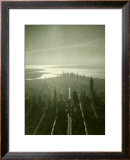 New York City Skyline Framed Giclee Print