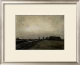 Landscape in Drenthe Framed Giclee Print by Vincent van Gogh