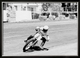 Kenny Roberts 750 Yamaha Flat Track Poster Framed Giclee Print by Jerry Smith