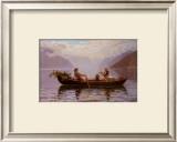 Hardanger Fjord Prints by Johan Christian Clausen Dahl