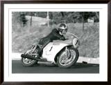 Mv Agusta Ago Racing Poster Framed Giclee Print