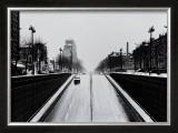 Driving by Clignancourt, Wide Prints by Manabu Nishimori