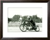 Gilera Saturno Racing Framed Giclee Print by Giovanni Perrone