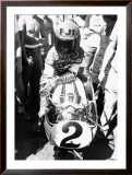 Kenny Roberts, Laguna Seca GP Framed Giclee Print by Jerry Smith