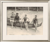Duke Kahanamoku on Outrigger Canoe Prints