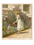 Princess Victoria Watering the Flowers at Kensington Palace Giclee Print