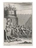 Roman Battering Ram Giclee Print