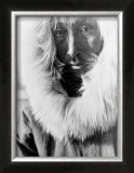 Alaskan Native Framed Giclee Print by Edward S. Curtis