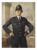 Police Officer London Giclee Print by Metropolitan Police