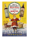 Martini Vermouth - What Is Christmas Without It Giclee Print