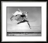 Exhuberant Soaring Dance Framed Giclee Print