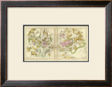 The Constellations in April - September, c.1835 Framed Giclee Print by Elijah H. Burritt
