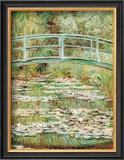 El puente japonés Póster por Claude Monet