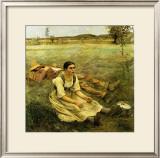 Lepage, Les Foins, c.1885 Posters by Jules Bastien