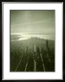 New York City Skyline Framed Giclee Print