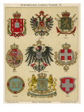 National Coats of Arms Giclee Print