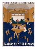 Nord Wagons-Lits Poster Giclee Print