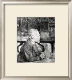 Vincent Van Gogh Framed Giclee Print by Henri de Toulouse-Lautrec