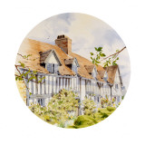 Mary Arden's House - Stratford-Upon-Avon. Painting by Malcolm Greensmith Giclee Print by Malcolm Greensmith