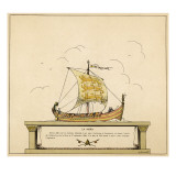 La Mora, William&#39;s Ship Giclee Print