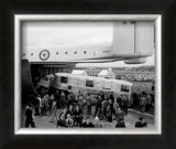 Blackburn Beverley Freighter Transport, Farnborough Air Show, 1954 Print