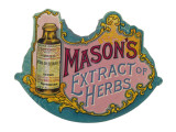 Mason's Extract of Herbs Giclee Print