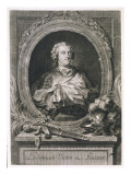 Louis XV known as Le Bien-Aime (The Well-Beloved) King of France Giclee Print