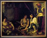 Femmes d'Alger dans Leur Appartement, c.1834 Prints by Eugene Delacroix