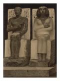 Nefertiti Statue Giclee Print