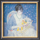 Basket of Flowers Prints by Frederick Carl Frieseke