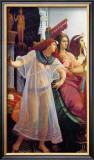 Ramses dans Son Harem, 1866 Art by Jean Jules Antoine Lecomte du Nouy