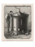 Pasteur's Apparatus Giclee Print