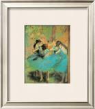 Blue Dancers Prints by Edgar Degas