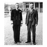 King George VI and Clement Attlee, at Buckingham Palace Giclee Print