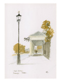 Main Entrance, Kensington Palace Giclee Print